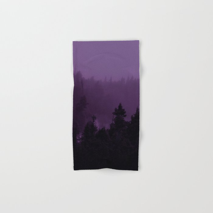 Purple Fog Hand & Bath Towel