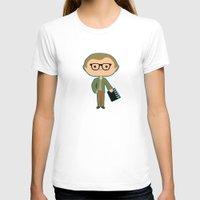 woody allen T-shirts featuring Woody Allen by Sombras Blancas Art & Design