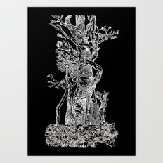 Sacred Tree Art Print