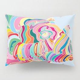 Goat in Rainbow Pillow Sham
