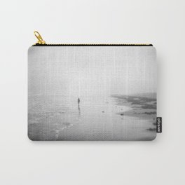 Walking In The Surf Carry-All Pouch
