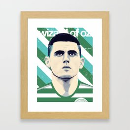 Tom Rogic, The Wily Wizard Framed Art Print