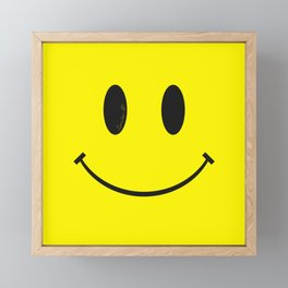 Smiley Framed Mini Art Print