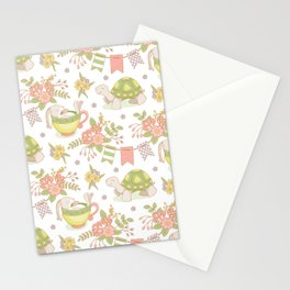 Hare and Tortoise -pattern- Stationery Cards