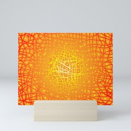 Heat Background Mini Art Print