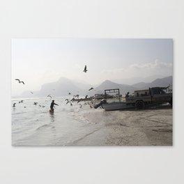 Mughsail Beach, Oman Canvas Print