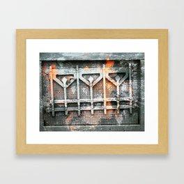 Last Of The Autumn Leaves Framed Art Print