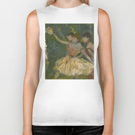 "Edgar Degas ""Dancers with tambourine"" Biker Tank"