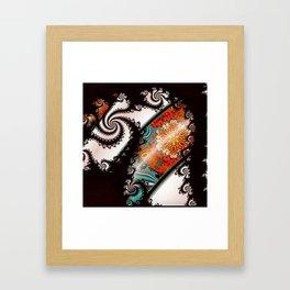 Johnny Beachball Fractal #1 Framed Art Print
