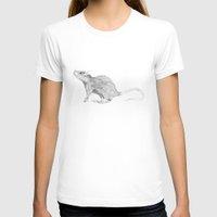 rat T-shirts featuring Rat by Rowan Weir