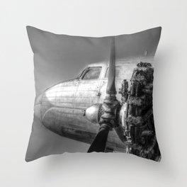 Russian Lisunov Li-2 Throw Pillow
