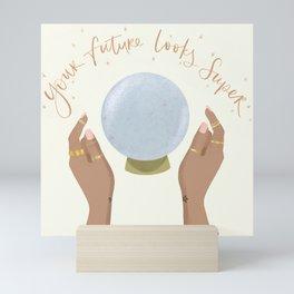 Super Future Fortune Teller  Mini Art Print