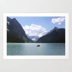 Lake Louise, Canada (2012) Art Print