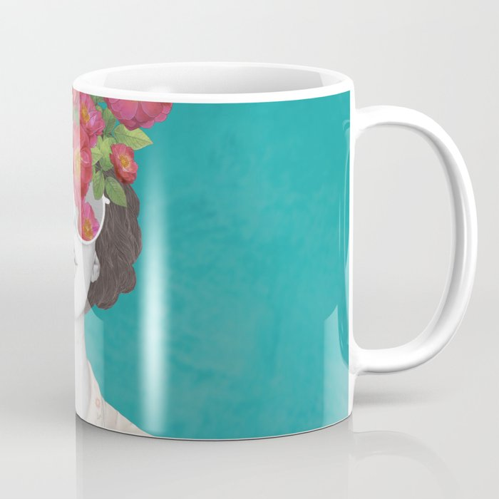 The optimist // rose tinted glasses Kaffeebecher