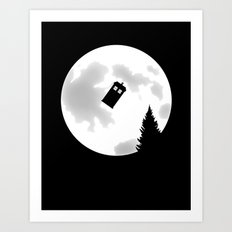 Dr Phone Home Art Print