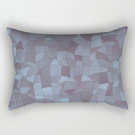 Geometric Shapes Fragments Pattern 2 bgr Rectangular Pillow