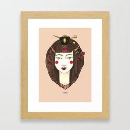 Ji-Woong Framed Art Print