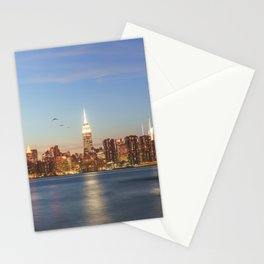 New York City Blues Stationery Cards