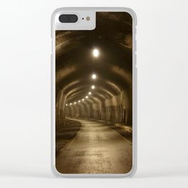 Headstone Tunnel Clear iPhone Case