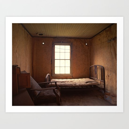Ghost Bedroom Art Print
