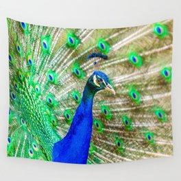 Peacock Pride Wall Tapestry