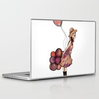 ballon Laptop & iPad Skins featuring Le Ballon // Birthday III by annabours