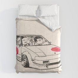 Crazy Car Art 0161 Comforters
