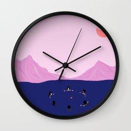 Solidarity Solstice Wall Clock