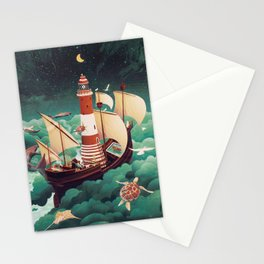 Light of freedom Stationery Cards