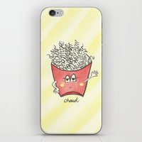 """french fries iPhone & iPod Skins featuring """"french"""" fries by luoyunl"""