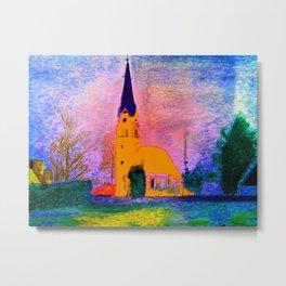Kleine Kapelle Metal Print
