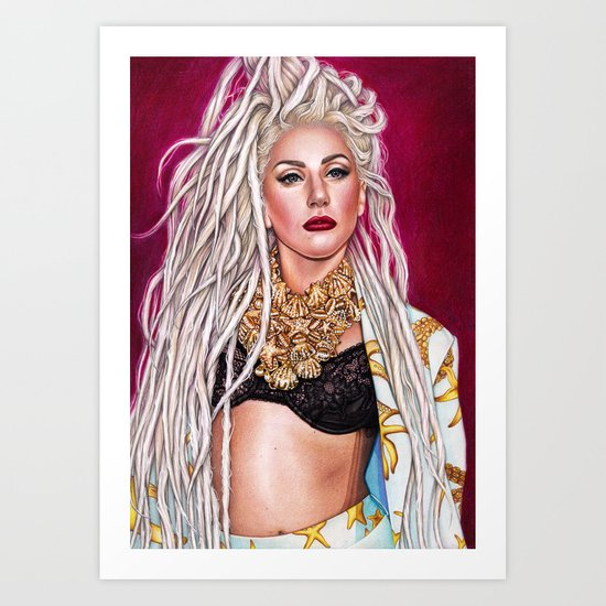 Mother Monster - Jingle Ball Art Print