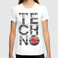 springsteen T-shirts featuring I love Techno by Sitchko