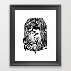 'The Erl King will do you grievous harm' Framed Art Print