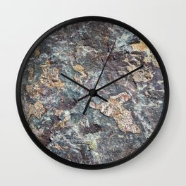Norwegian granite Wall Clock