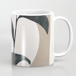 Abstract Minimal Plant Coffee Mug