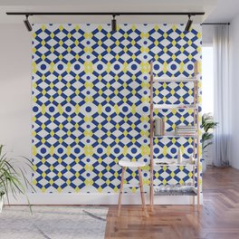 Moroccan Inspired Tile Pattern Wall Mural