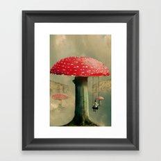 Wundershroom Framed Art Print