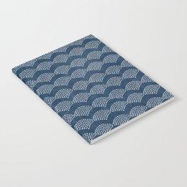 Wabi Sabi Arches in Blue Notebook