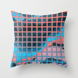 TOPOGRAPHY 2017-006 Throw Pillow