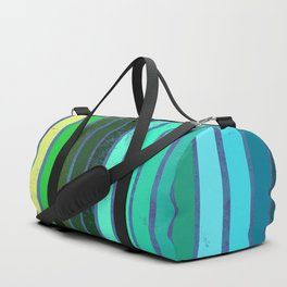 Colorful Lines Duffle Bag