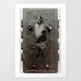 Steve Wozniak in Carbonite Art Print