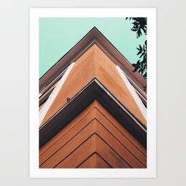 Facade Corner Art Print