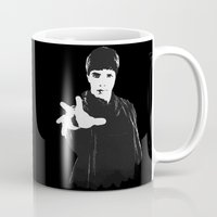 merlin Mugs featuring Merlin by Elyzewin