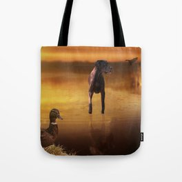 All Creatures In Peace Tote Bag