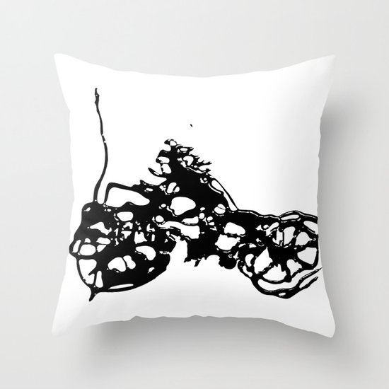 Cyclists Cycle Throw Pillow