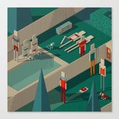 Habitat 21 Canvas Print