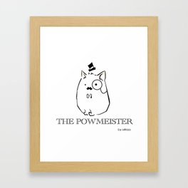 The Powmeister Framed Art Print