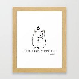 The Powmeister Framed Art Print