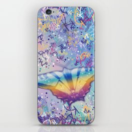 Vibrant Little Butterfly iPhone Skin